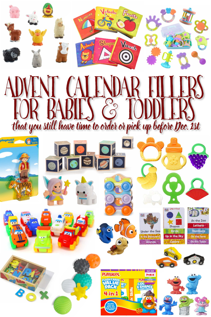 Advent Calendar Fillers for Babies and Toddlers