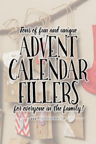 Advent Calendar Fillers for Everyone (With Prime Shipping-So You Still Have Time!)