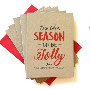 Personalized Christmas Cards by Simply C Designs