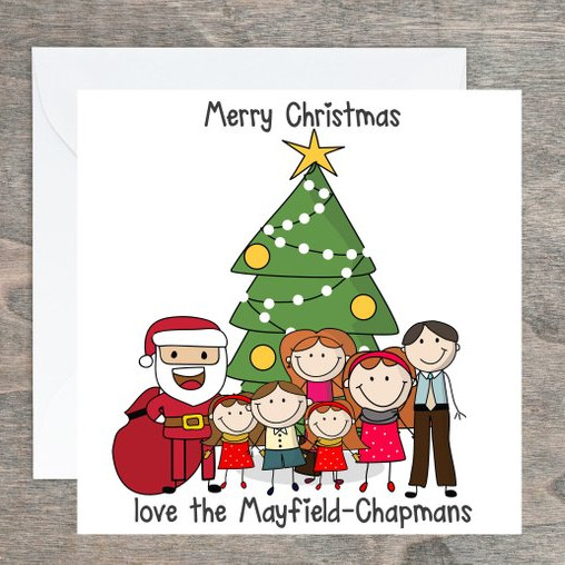 Custom Christmas Cards by The Paper Bug Studio