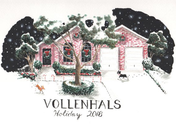 Create Your Own Home Holiday Card by Marnie Vollenhalls