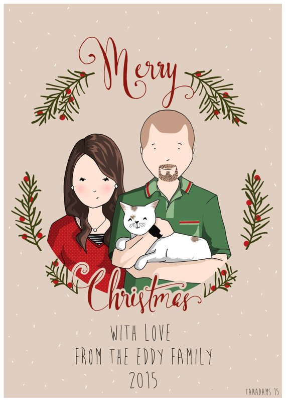 Custom Christmas Card from Tanya Adams Shop